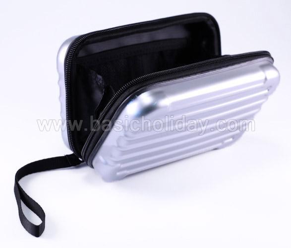 กระเป๋าใส่ของเบ็ดเตล็ดมีสายหิ้ว ซิปรูด กระเป๋าใส่ของเบ็ดเตล็ด กระเป๋าเล็ก กระเป๋าใส่ของจุกจิก ของขวัญ ของพรีเมี่ยม