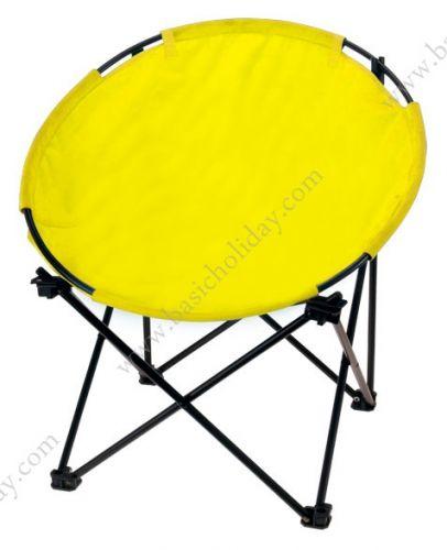 M 2528 เก้าอี้พับ แบบที่นั่งกลม ผ้า 600D-เล็ก