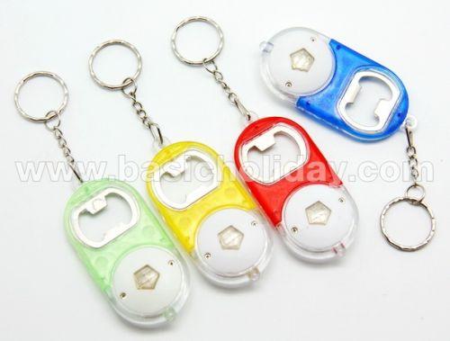 P 2305 พวงกุญแจเปิดขวดพร้อมไฟฉาย ของขวัญ premium ของชำร่วย สั่งทำ ของแจก พรีเมี่ยม