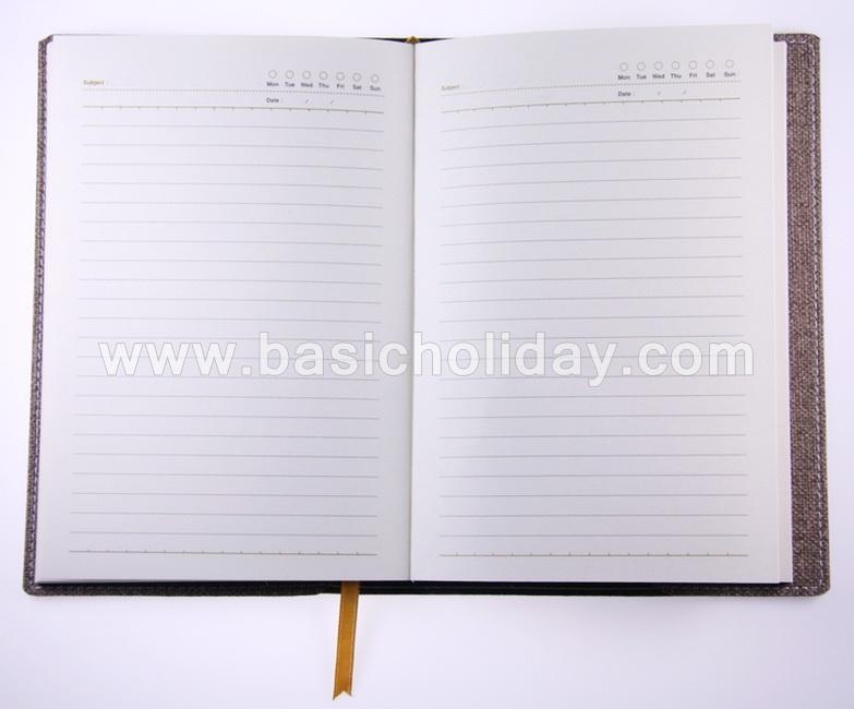 Managerial Note A5 สมุดไดอารี่ปกหนังพี่ยู PU สมุดโน้ต ไดอารี่ สินค้าพรีเมี่ยม ของขวัญ ของแจก ของสมณาคุณ