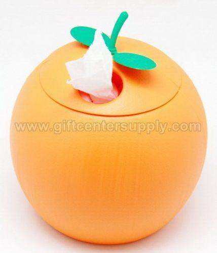 กล่องใส่กระดาษทิชชู กล่องใส่กระดาษชำระ กล่องใส่ทิชชู่ กล่องใส่ทิชชู่ผลไม้- ส้ม