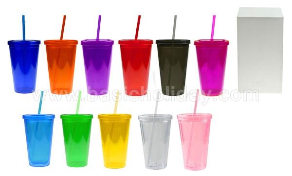 กระบอกน้ำ แก้วน้ำ มีหลอดI ของชำร่วย สินค้าที่ระลึก ของที่ระลึก ของขวัญ  ของแต่งงาน ของพรีเมี่ยม กิ๊ฟช็อป ของตกแต่งบ้าน ของแถม