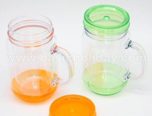 P 2348  ถ้วยพลาสติกใสมีหูจับ กระบอกน้ำ กระติกน้ำสแตนเลส กระบอกน้ำอลูมิเนียม ขวดน้ำ เหยือกน้ำ สินค้าพรีเมี่ยม giftshop