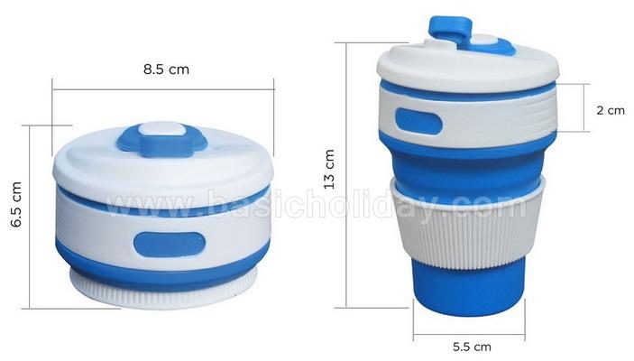 แก้วน้ำพับได้เกรดA แก้วน้ำพับได้ ของพรีเมี่ยม ของที่ระลึก สกรีนฟรี งานด่วน แก้วพับได้ แก้วพกพาเดินทาง