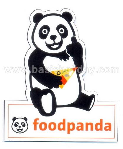 แม่เหล็กอ่อนพิมพ์ติดตู้เย็น-Foodpanda