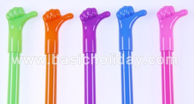 ปากกาพลาสติก ปากกานำเข้า ปากกาสกรีนโลโก้ ปากกาพรีเมี่ยม ปากกากด like ปากกานิ้วมือ