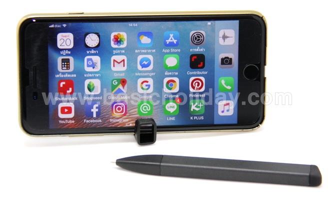 ปากกา 4 in 1 Kube ฝาปิดปากกา ตั้งมือถือได้ ของที่ระลึก ของขวัญ ของชำร่วย ของแจก ปีใหม่ ลูกค้า สกรีน logo