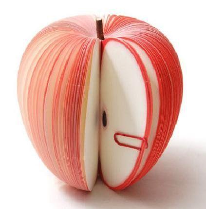 กระดาษโน้ตรูปผลไม้ กระดาษโน้ต กระดาษบันทึก MEMMO กระดาษ