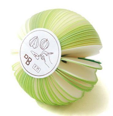 P1882-3 กระดาษโน้ตรูปผลไม้ กระดาษโน้ต กระดาษบันทึก MEMMO กระดาษ