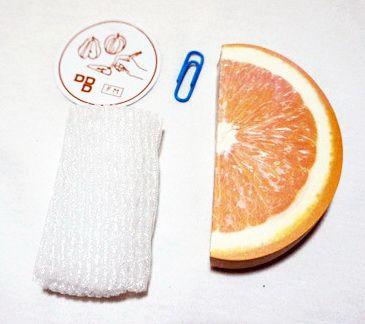 P1885-3 กระดาษโน้ตรูปผลไม้ กระดาษโน้ต กระดาษบันทึก MEMMO กระดาษ