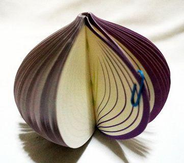 P1893-1 กระดาษโน้ตรูปผลไม้-หัวหอม กระดาษโน้ตรูปผลไม้ กระดาษโน้ต กระดาษบันทึก MEMMO กระดาษ