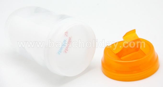 P 2716 ถ้วยน้ำพลาสติก 2 ชั้น ใส่โลโก้ได้ คละสี 9 ออนซ์ กระบอกน้ำสกรีนโลโก้ ราคาถูก สกรีนชื่อ กระบอกน้ำอลูมิเนียม ขวดน้ำพลาสติก เหยือกน้ำ กระติกน้ำ สินค้าพรีเมี่ยม giftshop