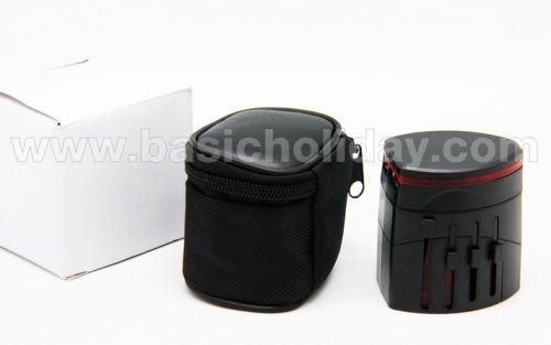 P 2308 ปลั๊กนานาชาติ-Universal Plug ของขวัญ premium ของชำร่วย สั่งทำ ของแจก พรีเมี่ยม