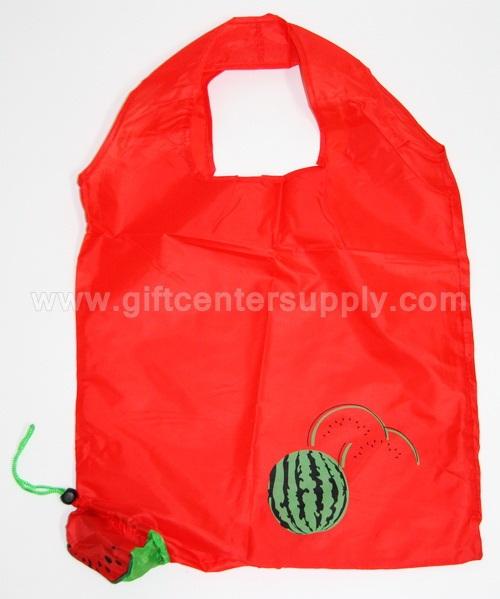 ถุงผ้า พับได้ ถุงผ้าราคาถูก ถุงผ้าพับเก็บได้ ถุงผ้าราคาส่ง ของชำร่วย ของที่ระลึก ถุงผ้าลายผลไม้