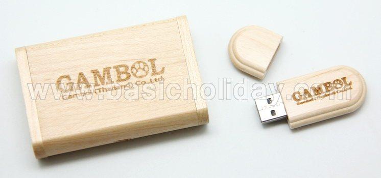 รับผลิต Flash Drive แฟลชไดร์ฟพรีเมี่ยม ราคาส่ง แฟลชไดร์ฟไม้ Wood Flash Drive