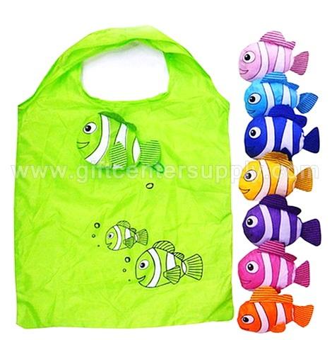 ของแจก ของขวัญ แจกเด็ก วันเด็ก ของเล่น ถุงผ้าปลาการ์ตูน ถุงผ้าพับได้ ถุงผ้าปลา  ของรางวัล งานวันเด็ก