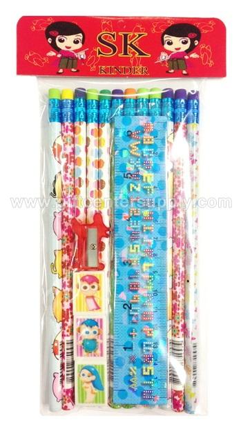 ชุดดินสอ ของแจก วันเด็ก ของขวัญวันเด็ก ของแจก ของรางวัล งานวันเด็ก ชุดของแจกเด็ก ของบริจาคเด็ก ของจับฉลากวันเด็ก