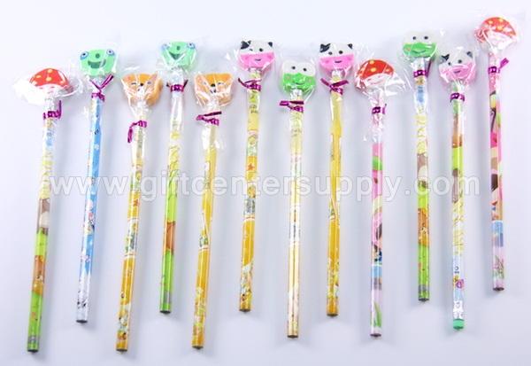 ของแจก ของขวัญ แจกเด็ก วันเด็ก ดินสอไม้ ดินสอยางลบ ดินสอการ์ตูน ของรางวัล งานวันเด็ก