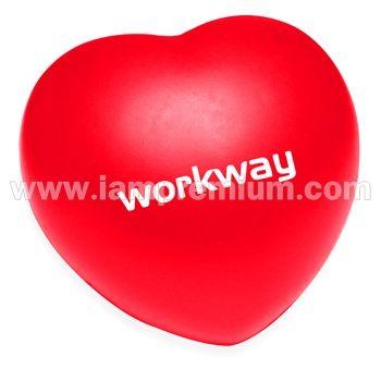 ยาง PU บีบรูปหัวใจ