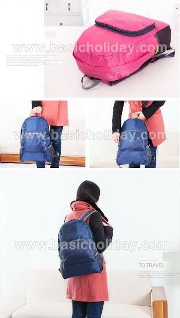 กระเป๋า กระเป๋าเป้ กระเป๋าเป้สะพายหลัง กระเป๋าเดินทาง กระเป๋าพับได้ เป้พับได้ ของขวัญ ของแจก สกรีนโลโก้