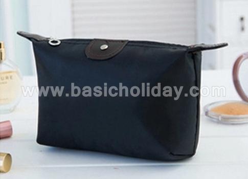 กระเป๋าเครื่องสำอางค์ กันน้ำ กระเป๋าเดินทาง กระเป๋าแต่งหน้า กระเป๋าอเนกประสงค์ นำเข้ากระเป๋าเกรดพรีเมี่ยม กระเป๋าใส่อุปกรณ์ สีดำ