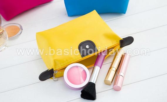 กระเป๋าจัดระเบียบ กระเป๋าแต่งหน้า กระเป๋าอเนกประสงค์ นำเข้ากระเป๋าเกรดพรีเมี่ยม กระเป๋าใส่อุปกรณ์ พร้อมสกรีนชื่อ