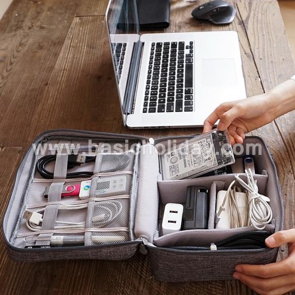 กระเป๋าจัดระเบียบ กระเป๋าแต่งหน้า กระเป๋าอเนกประสงค์ นำเข้ากระเป๋าเกรดพรีเมี่ยม กระเป๋าใส่อุปกรณ์ ของแจก