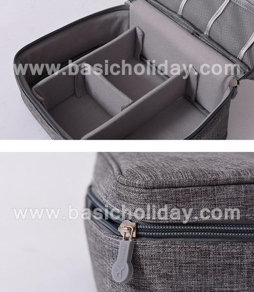 กระเป๋าจัดระเบียบ กระเป๋าแต่งหน้า กระเป๋าหลายช่อง กระเป๋าอเนกประสงค์ นำเข้ากระเป๋าเกรดพรีเมี่ยม กระเป๋าใส่อุปกรณ์
