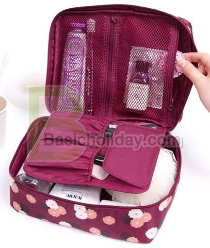 กระเป๋าอเนกประสงค์ กระเป๋าผ้าไนล่อน กระเป๋าใส่เครื่องสำอาง สินค้าพรีเมี่ยม กระเป๋าจัดระเบียบ