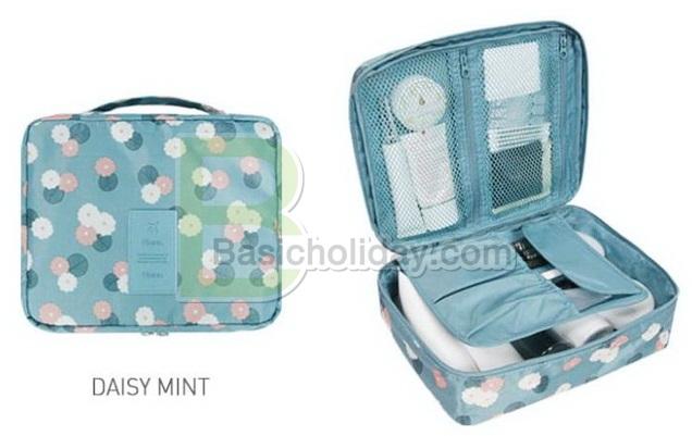 กระเป๋าใส่เครื่องสำอางค์เอนกประสงค์ กระเป๋าใส่พาสปอร์ต bag in bag กระเป๋าจัดระเบียบ กระเป๋าใส่ของจุกจิก