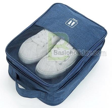 กระเป๋าอเนกประสงค์ กระเป๋าจัดระเบียบ กระเป๋าใส่ของจุกจิก กระเป๋าพับได้ กระเป๋าใส่รองเท้า สกรีนฟรี