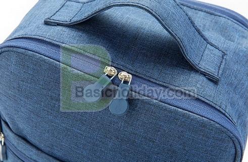 กระเป๋าพับได้ กระเป๋าใส่พาสปอร์ต bag in bag สำหรับจัดระเบียบกระเป๋าเดินทาง จัดระเบียบกระเป๋าถือ