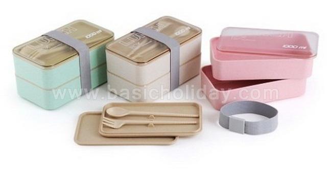 กล่องใส่อาหาร กล่องข้าว กล่องอาหารอเนกประสงค์ รับผลิตสินค้าพรีเมียม Lunch Box สกรีนโลโก้