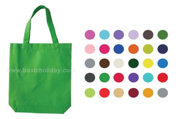 โรงงานผลิต กระเป๋าผ้าสปันบอนด์ ถุงผ้า มีให้เลือก 30 สี ผ้าสปันบอนด์ คุณภาพสูง กระเป๋าผ้า Spunbond Bag