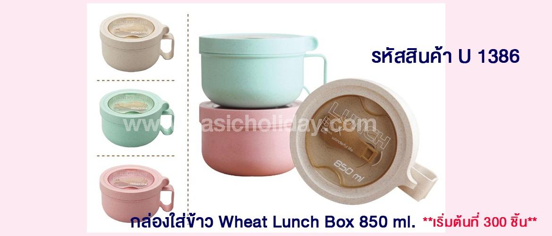 ของพรีเมี่ยม พรีออเดอร์ กล่องใส่ข้าว Wheat Lunch Box กล่องใส่ข้าวพลาสติก กล่องใส่ข้าวสแตนเลส ของพรีเมี่ยมนำเข้า