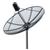 จานระบบ C-BAND ยี่ห้อ PSI  แบบทึบ เส้นผ่าศูนย์กลาง 130CM,150CM,170CM,185CM,200CM,227cm เหมาะสำหรับรับดาวเทียม thaicom2&5 c-band