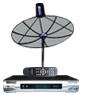receiver Simple box3 + จานINFOSAT ขนาด5.5ฟุต ระบบC-band รับดาวไทยคม2&5 จุดรับชม1จุด