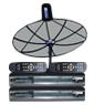 receiver Simple box4 + จานINFOSAT ขนาด4.5ฟุต ระบบC-band รับดาวไทยคม2&5 จุดรับชม2จุด