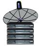 receiver Simple box4 + จานINFOSAT ขนาด5.5ฟุต ระบบC-band รับดาวไทยคม2&5 จุดรับชม4จุด