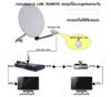 """1.แบบLINK RF คือการเพิ่มจุดรับชมแบบดูตามกันช่องเดียวกันกับรีซีฟเวอร์ตัวแม่ VCTV HDMI ตัวอย่างเช่นถ้าทีวีเครื่องที่1ที่ถูกต่อกับเครื่องรีซีฟเวอร์ VCTV HDMI ไว้ และกำลังชมช่องทีวีไทยช่อง VTV1อยู่ ฉะนั้น ทีวีเครื่องที2ที่ถูกต่อระบบLINK ไว้ก็ต้องชมช่องVTV1 ด้วยเช่นกัน แต่จะสามารถเปลี่ยนเป็นช่องอื่นๆได้ทั้ง2จุด ถ้าจุดใดกดรีโมทเปลี่ยนช่องไปอีกจุดหนึ่งก็จะถูกเปลี่ยนช่องไปด้วย ลักษณะการทำอย่างนี้ทางช่างเขาเรียกกันว่า """" การทำ LINK RF """" ซึ่งจะสามารถติดกับรีซีฟเวอร์ ที่มีสัญญาณRF O/P เท่านั้น ซึ่งรีซีฟเวอร์ VCTV HDMI  โดย เคเบิ้ลทีวีเวียดนาม ก็มีช่อง RF O/P ด้วยเช่นกัน  อุปกรณ์ที่ใช้ในการติดตั้งก็จะมี ตัวLINK REMOTE 1ตัว และรีโมทรีซีฟเวอร์รุ่น PVR อีก1ตัว ราคาพร้อมติดตั้งประมาณ 1,800.- ***การทำLink RFเคเบิ้ลทีวีของเวียดนามนั้นเหมาะสำหรับท่านที่มีสมาชิกในบ้านน้อยท่าน และไม่ต้องการเสียค่าสมาชิกเพิ่ม ***"""