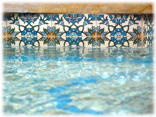 ancient tile for pool