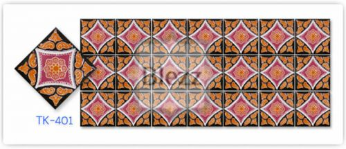 Blezz Tile Handmade Series - Paint&Drop code TK401 Pattern