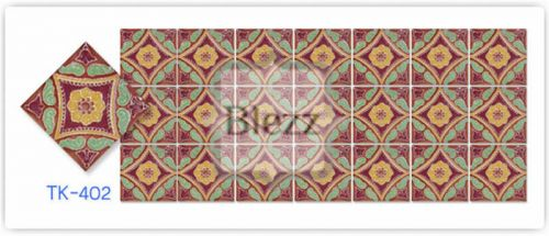 Blezz Tile Handmade Series - Paint&Drop code TK402 Pattern
