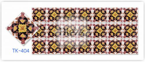 Blezz Tile Handmade Series - Paint&Drop code TK404 Pattern