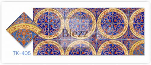 Blezz Tile Handmade Series - Paint&Drop code TK405 Pattern