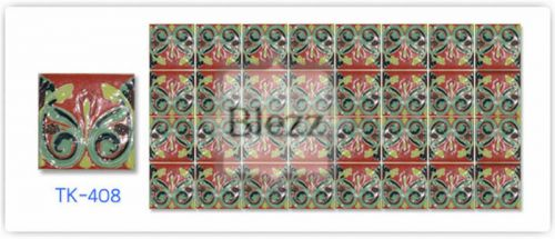 Blezz Tile Handmade Series - Paint&Drop code TK408 Pattern