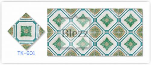 Blezz Tile Handmade Series - Paint&Drop code TK601 Pattern