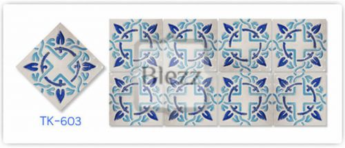 Blezz Tile Handmade Series - Paint&Drop code TK603 Pattern