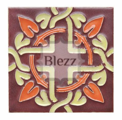 Blezz Tile Handmade Series - Paint&Drop code TK604