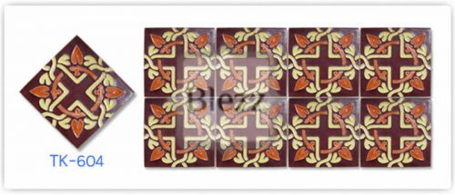Blezz Tile Handmade Series - Paint&Drop code TK604 Pattern